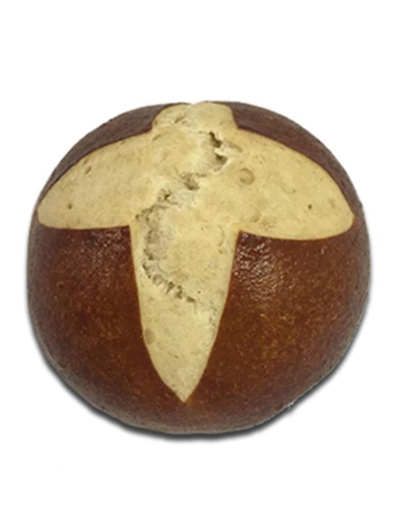 Pretzel Hamburger Bun 4 inch
