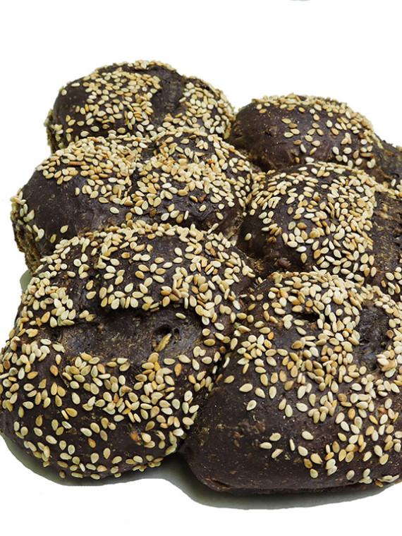 Pumpernickle Cluster Sesame