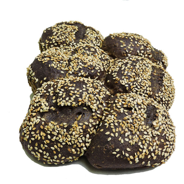 Pumpernickle Cluster Sesame
