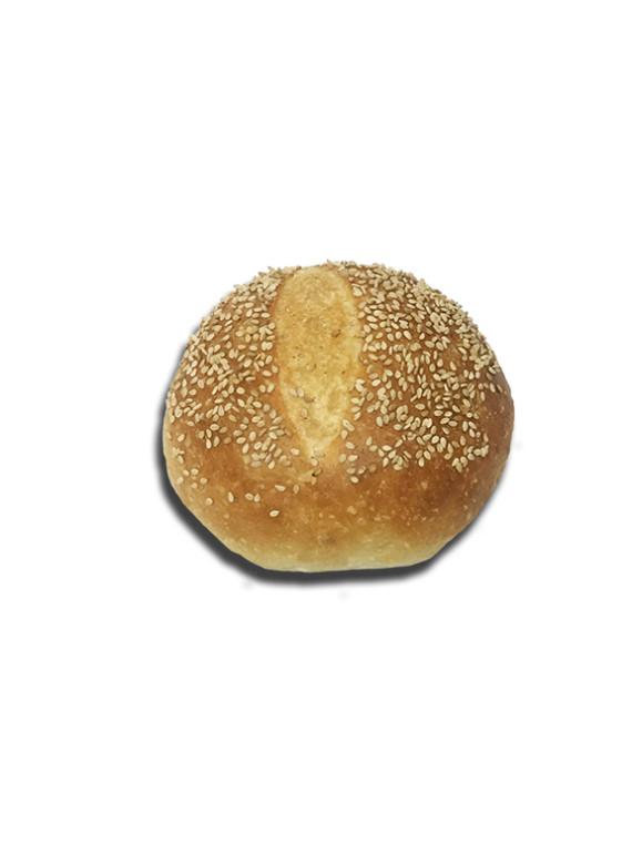 Semolina Round Sesame 4 inch